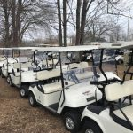 2012 EZGO electrics with 2015 batteries for only $1875!