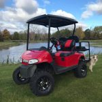 SOLD 2014 Gas EZGO RXV with 4in lift,