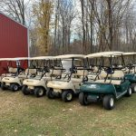 SOLD 2006 thru 2012 Club Car DS Gas $2100 and $2750
